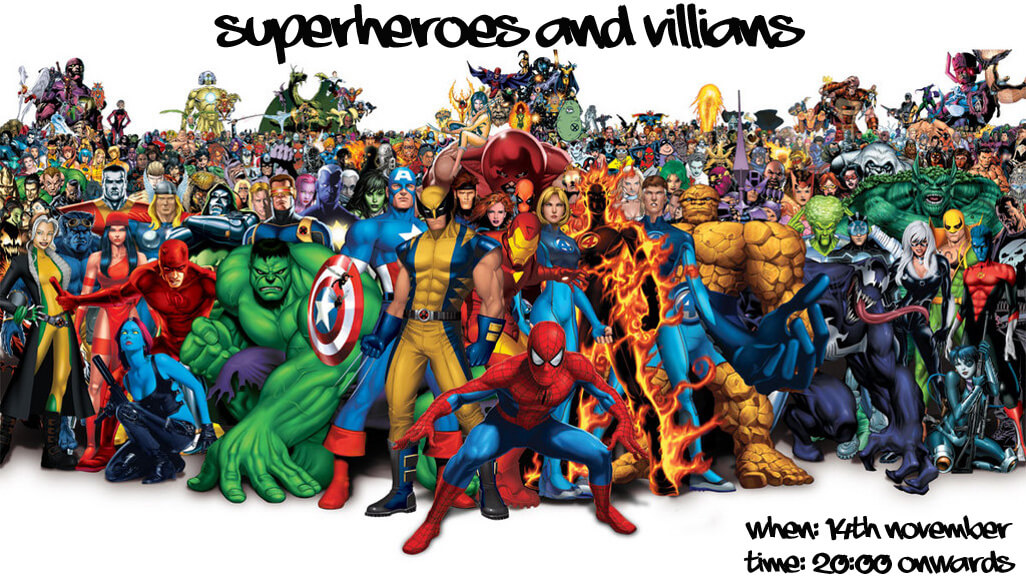 Superheroes & Villains copy