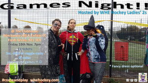 Games Night WHE Ladies 2s