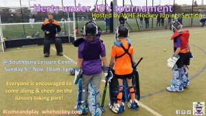 Herts U10's tournament WHE Juniors