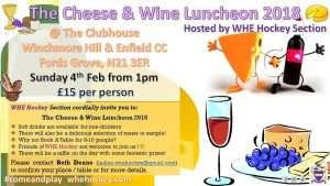 Cheese & Wine 2018 WHE Hockey