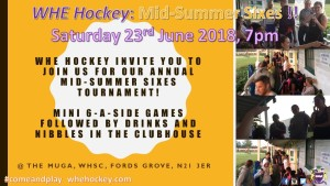 Mid-Summer Sixes 23rd June 2018 #3a