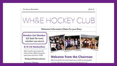 Pre-season Newsletter